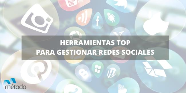 Herramientas para gestionar redes sociales, ¡el TOP4!