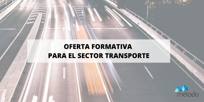 Cursos subvencionados para trabajadores del sector transporte