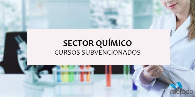 Formación subvencionada para el sector químico