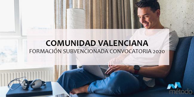 Cursos gratuitos en la Comunidad Valenciana: convocatoria 2020
