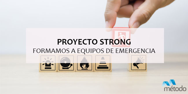 Proyecto STRONG: formación avanzada para equipos de emergencia